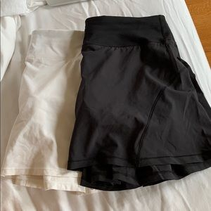 lululemon tennis skirts